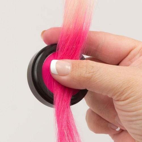 Hair Chalking rosa