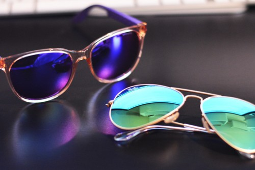 colored-mirror-shades-carrera-ray-ban-aviator giu-lia.com