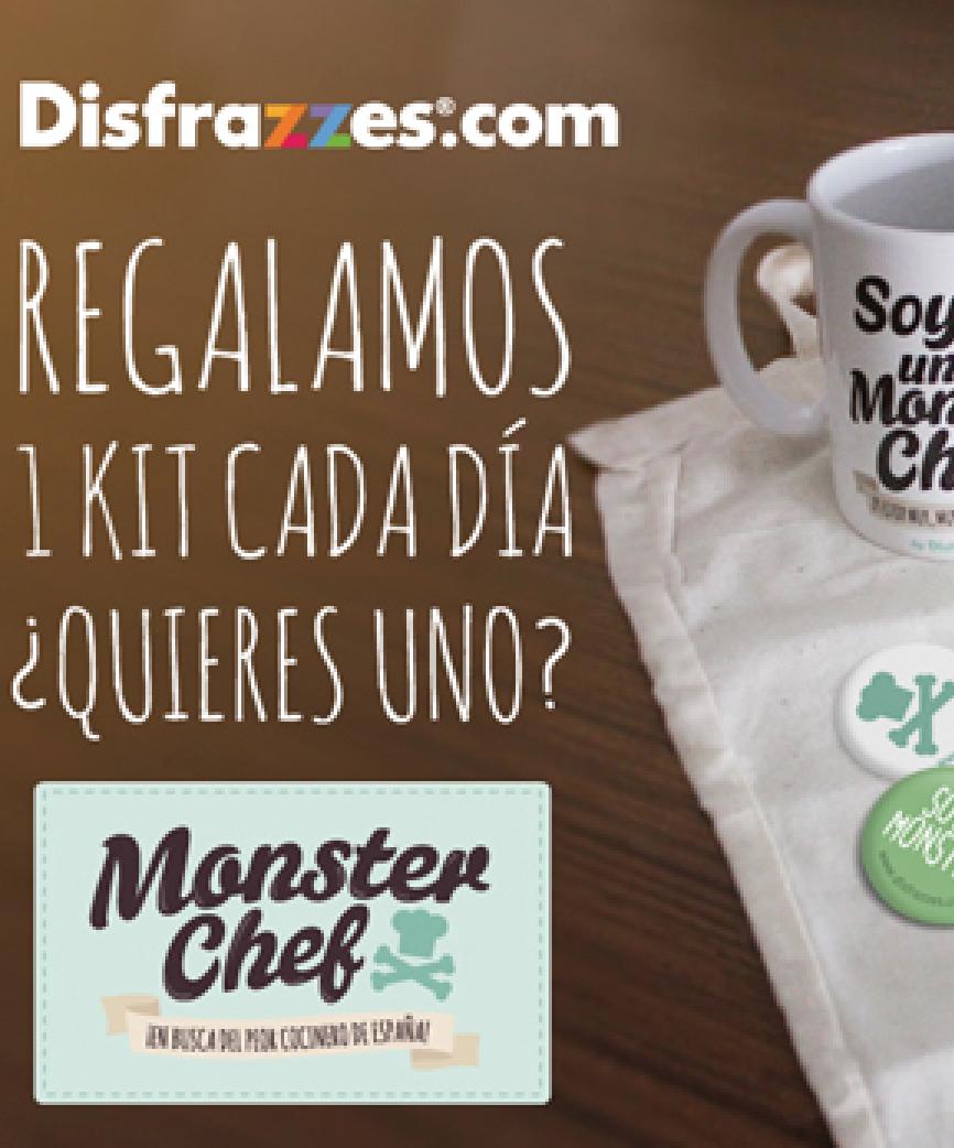 Participa en #MonsterChef y gana tu kit de peor cocinero