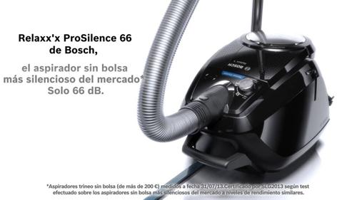 Aspirador silencioso de Bosch