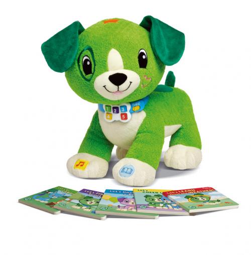 Scout y Violeta, los peluches interactivos que enseñan a leer a tus hijos