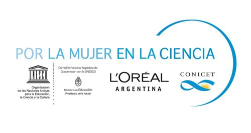 Logo PorLaMujerEnLaCiencia