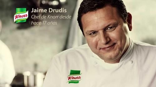 Jaime Drudis chef de Knorr
