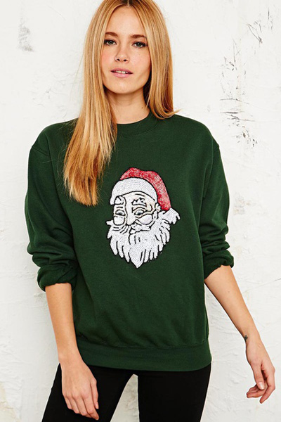 Jersey navideño con Papa Noel