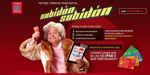 Subidón Euro 6000