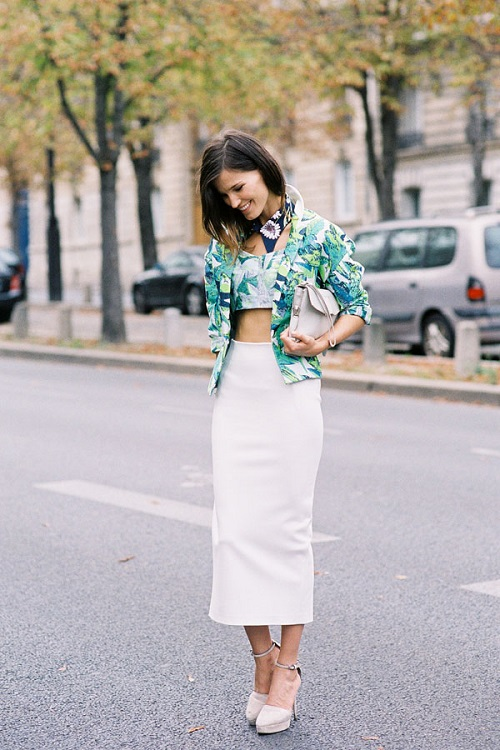 Tendencia crop top y cropped shirts 19
