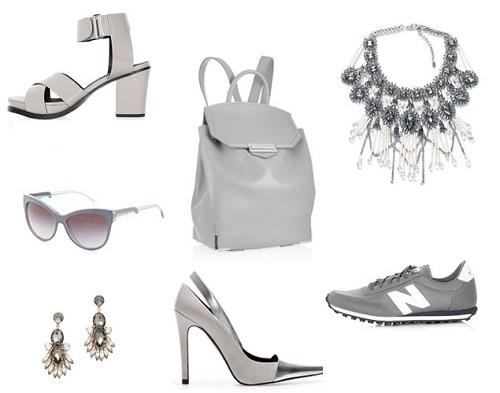 La moda se tiñe de orquídea radiante y gris paloma