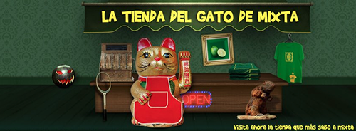 Tienda del gato de mixta
