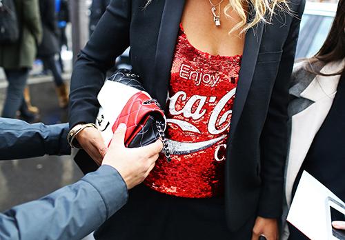 Camiseta de coca cola