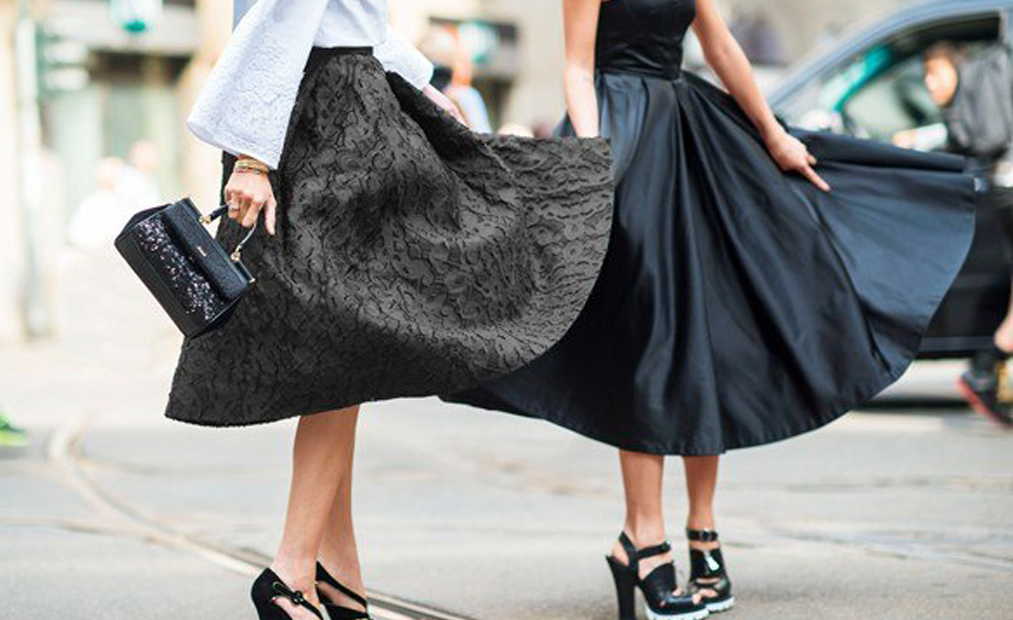 Faldas Midi: la nueva obsesión de la primavera