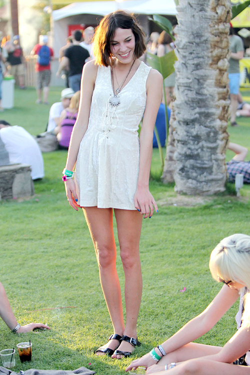 Alexa Chung Coachella