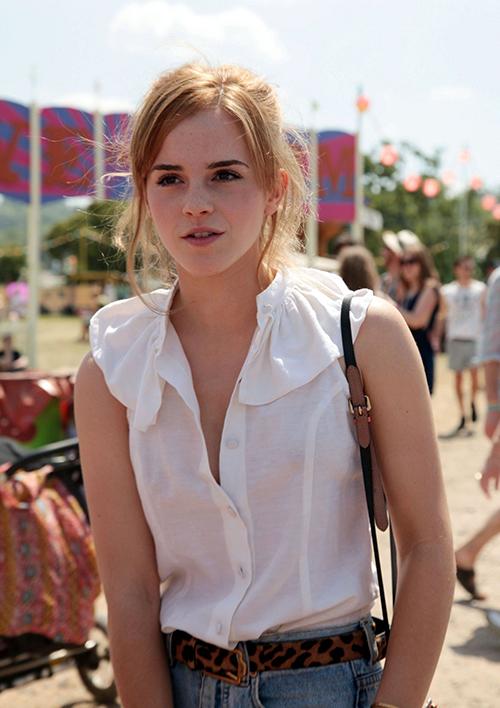 Emma Watson Glastonbury