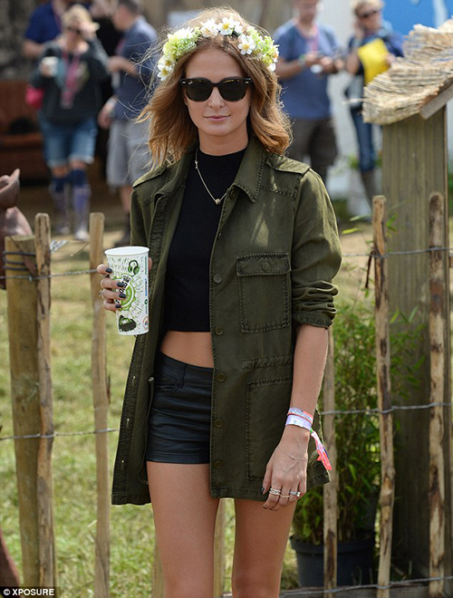 Millie Mackintosh Glastonbury