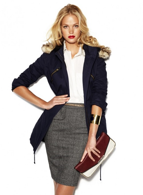 Modelo con estilo working girl