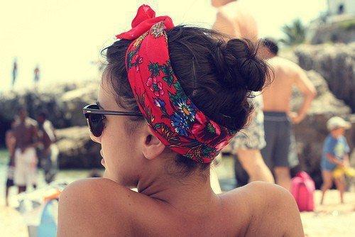 Pañuelo playa