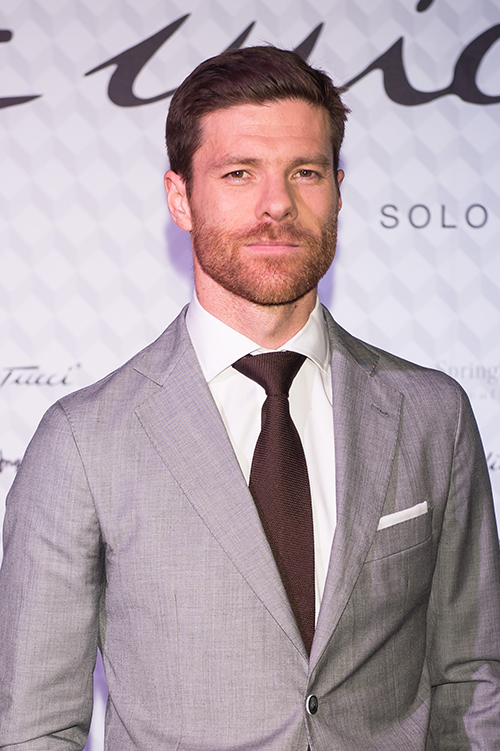 Xabi Alonso photocall