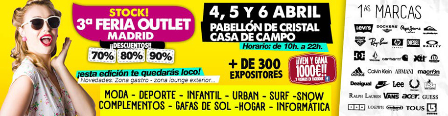 3ª Feria Outlet de Madrid