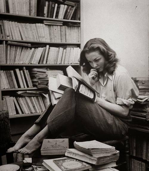 lectora de novelas románticas
