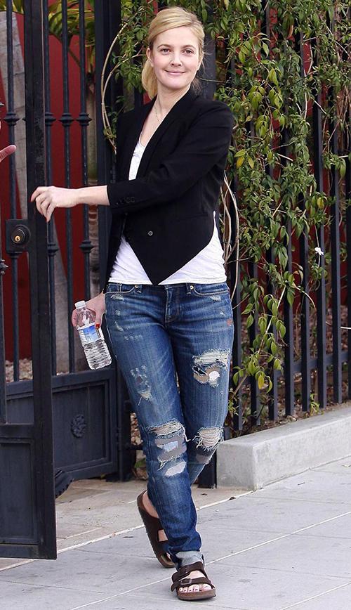 Drew Barrymore Birkenstock
