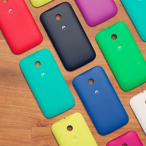 Motorola Moto E - carcasas de colores