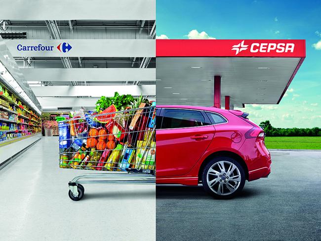Consigue descuentos en Carrefour cada vez que eches gasolina en Cepsa