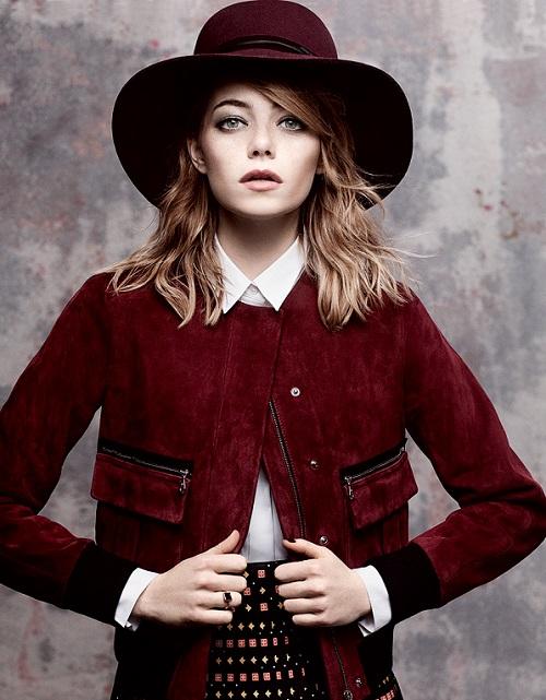 Emma Stone pelirroja