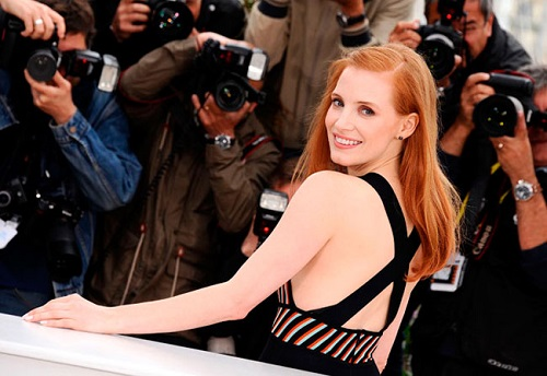 Jessica Chastain color pelirrojo