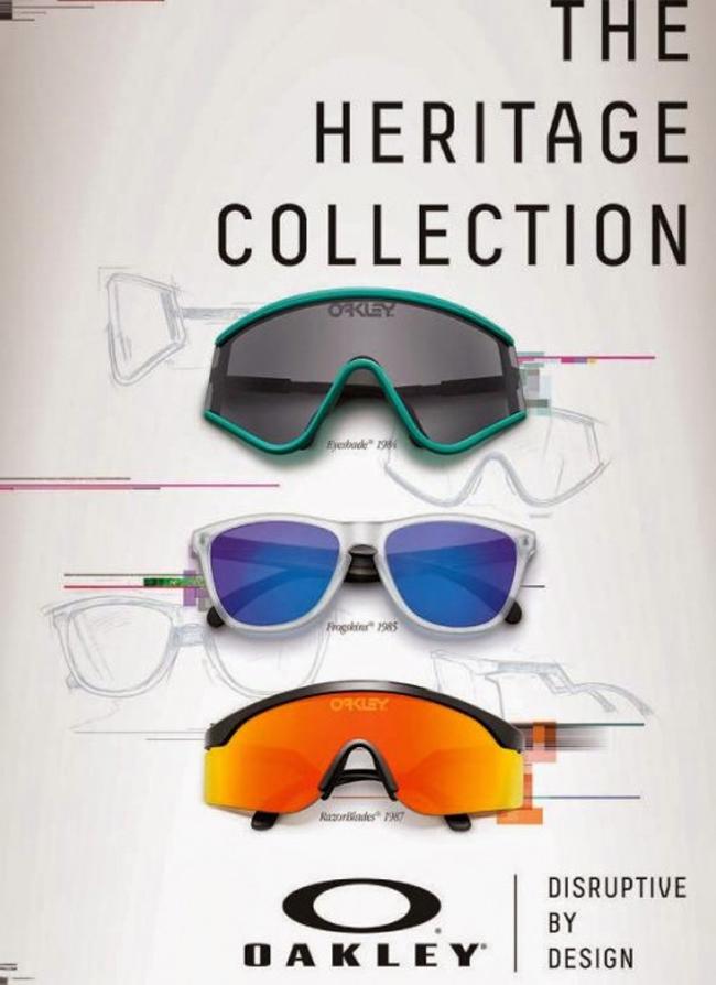 La Colección Heritage de Oakley celebra su 30º aniversario