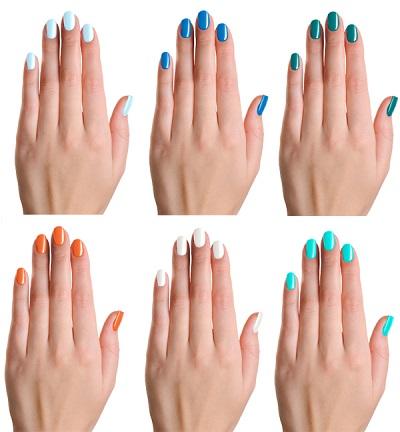 Los esmaltes de uñas del verano