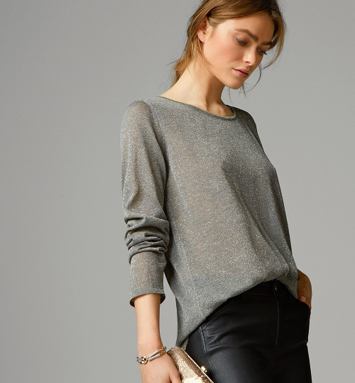 massimo-dutti-mujer-camisa toques metálicos