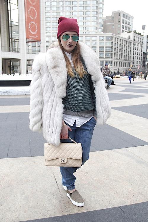 Street Style desde Nueva York: últimas tendencias para la próxima temporada
