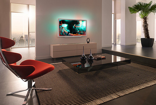 LED Ambilight Cinema Gold de Philips