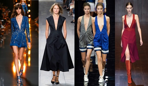 tendencias moda 2015 escotes v