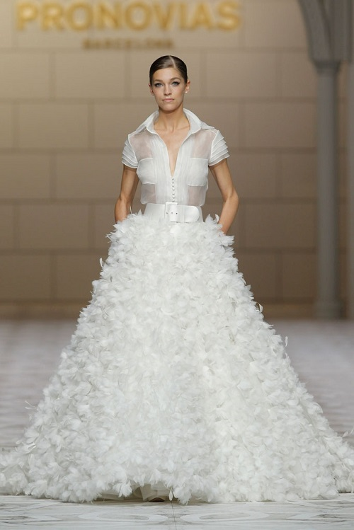 vestidos bolsillo  Pronovias
