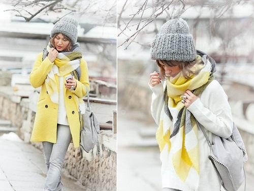 Amarillo, el color que alegrará tu fondo de armario invernal