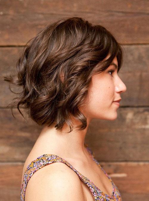 corte bob de pelo con ondas