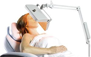fototerpai luz led ambar belleza rostro tecnologia cosmetica