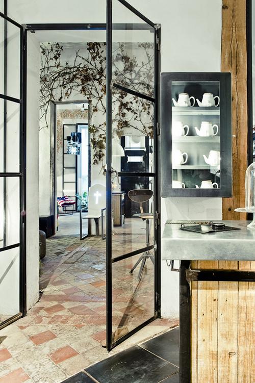 interior zona bar tienda muebles diseño madrid kikekeller