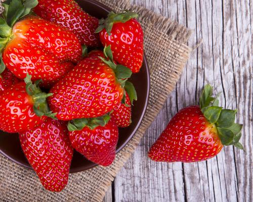 fresas vitamina c salud
