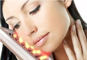 terapia luz led tratamiento belleza piel rostro