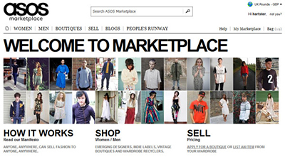 asos marketplace compra venta segunda mano moda belleza