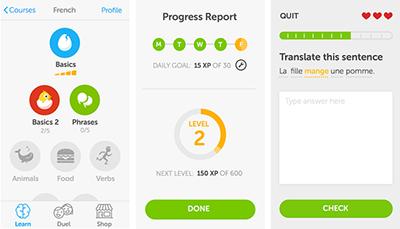 duolingo app movil aplicacion smartphone tablet android idiomas