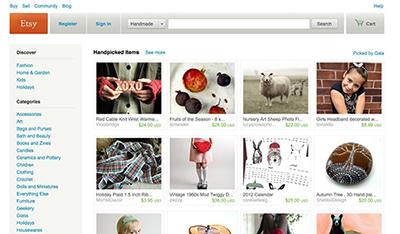etsy tienda online marketplace