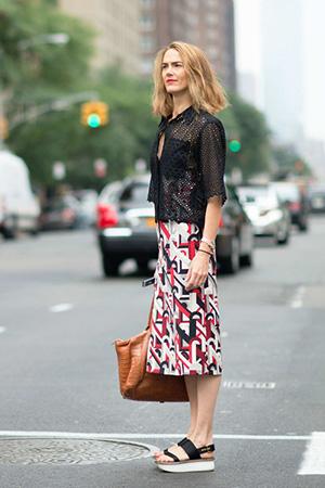 flatforms street style moda 2015 tendencias zapatos