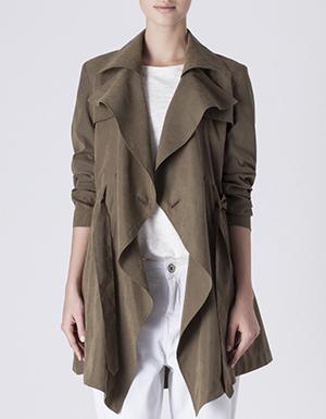 gabardina moda primavera trench tendencias ropa