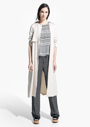 mango coleccion primavera 2015 tendencias moda trench gabardina