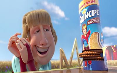 nuevas principe receta galletas marketing publicidad