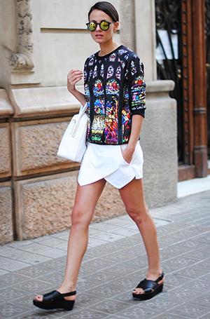 plataformas street style tendencia calzado