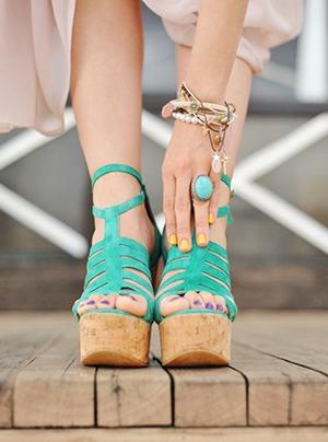 tacones plataforma verano 2015 tendencias calzado moda zapatos