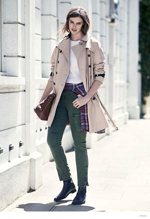 trench street style gabardina primavera 2015 tendencia moda